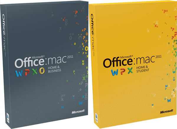 Global USSoftware MAC Office 2011 Home And Business License In Stock