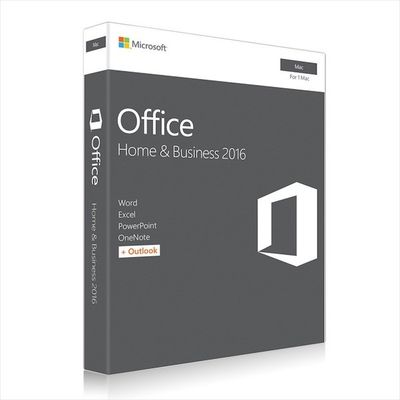 China Microsoft MAC Office 2016 Home and Business Web Download Directly fournisseur