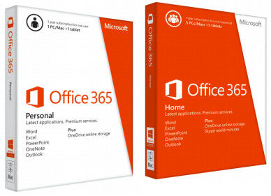China Multi Sprache aktivieren Produkt-Schlüssel-Bit 32/64 Microsoft Offices 365 fournisseur