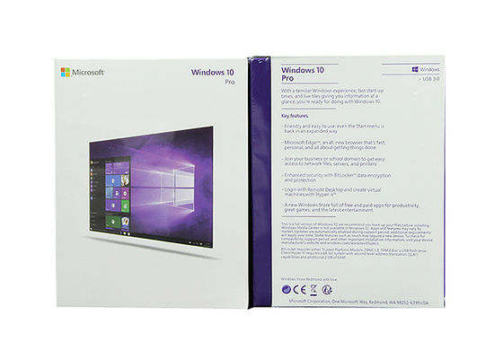 China Windows 10 Kleinbits des produkt-Schlüssel-32 1 Lizenz/Pro-Software Windows 10 usine
