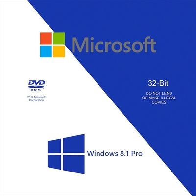 China Microsoft Windowss 8,1 Bit-Windows 8,1 des Produkt-Schlüssel-32 Prokleinkasten-on-line-Verbesserung usine