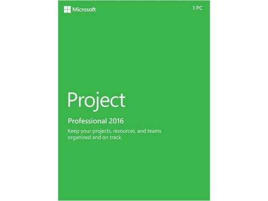 China Globale Prokostenloser download Sprach-Microsoft Office-Projekt-2016 2 GBs distributeur
