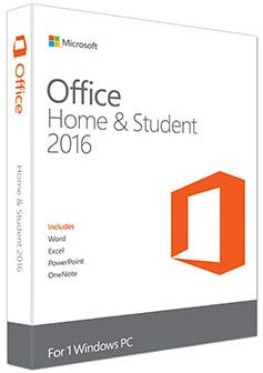 China Microsoft Office 2016 Haupt und Student Klein-PKC usine